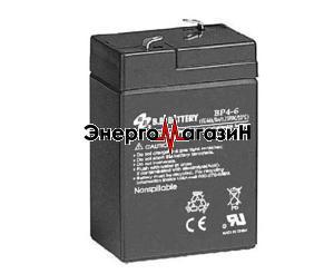BB Battery BP4-6
