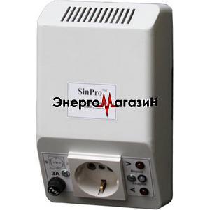 SinPro СН-250 однофазный релейный стабилизатор напряжения для котлов