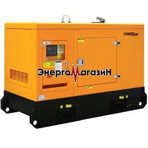 Дизель-генератор POWER LINK GMP42PXS трехфазный в шумозащитном кожухе