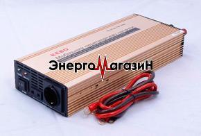 KEBO IPS-1000С Инвертор 12 220 (с зарядным устройством)