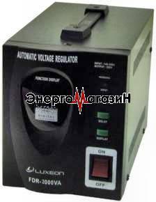 Luxeon FDR-3000 серво, сервоприводный однофазный стабилизатор напряжения
