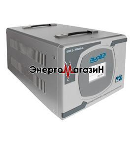 SRFII-12000-L, однофазный релейный стабилизатор, напольный