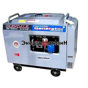 Дизель-генератор GlenDale DP6500L-SLЕ/3(автозапуск)