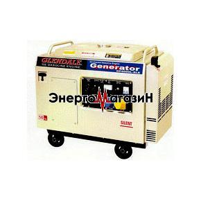Бензогенератор GLENDALE GP5500L-SLE