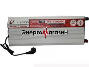 Luxeon IPS-3000МС Инвертор 12 220 (с зарядным устройством)