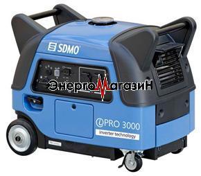 Инверторный генератор SDMO Inverter pro 3000