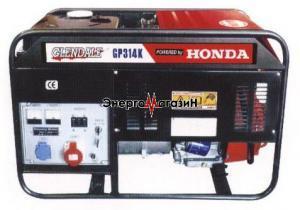 Бензогенератор высокой мощности GP316K (Honda)