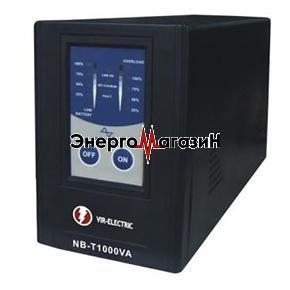 ИБП NB-T1000VA, с подключением внешних аккумуляторных батарей